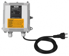 "NEW PROTEC.  AND CONTR. EQUIP.  for bore-hole pumps CONTROL  BOX  4""  0,75  (0,55 Kw)"